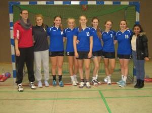 Handball Mädchen WK II 2013