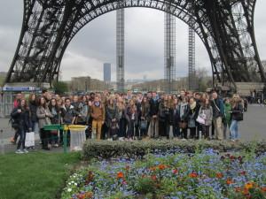 Eiffelturm-Frankreich