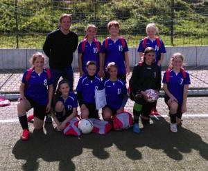 Fußball Mädchen 2015 Foto