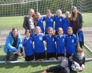 Foto Fußball Mädchen WK IV 2016 Reg 1