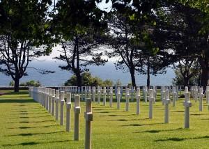 Friedhof 2 mit Meer